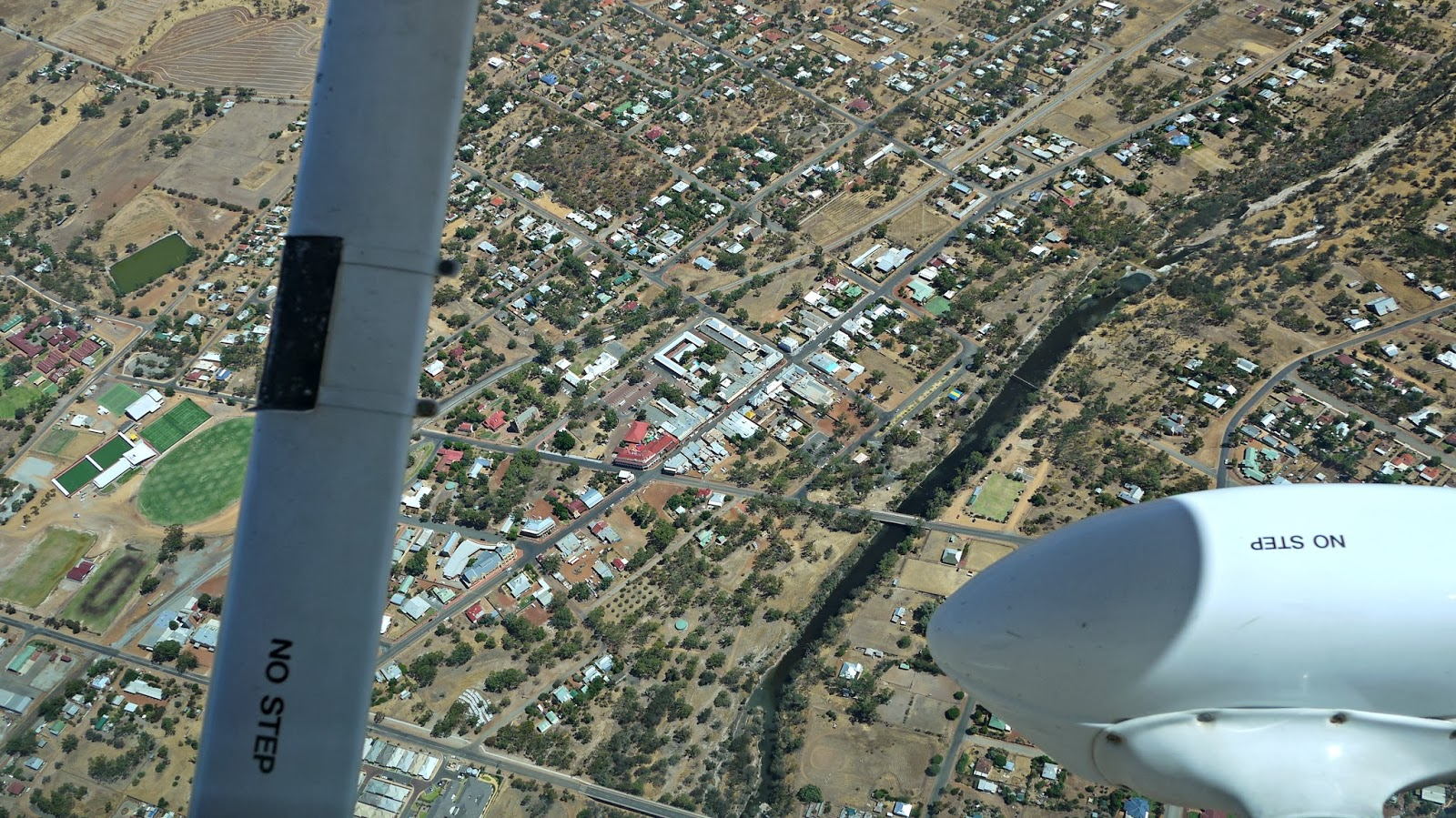 Birdseye view of York Western Australia