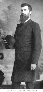 Image of James Monore Leer, Sr. (1841-1894), undated.