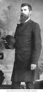 Image of James Monore Leer, Sr. (1841-1894), undated.