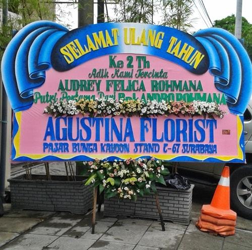 toko bunga surabaya agustina