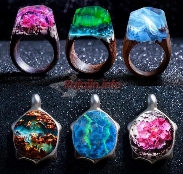 Luar Biasa Cantik !! Miniatur Alam yang Melingkari Jari