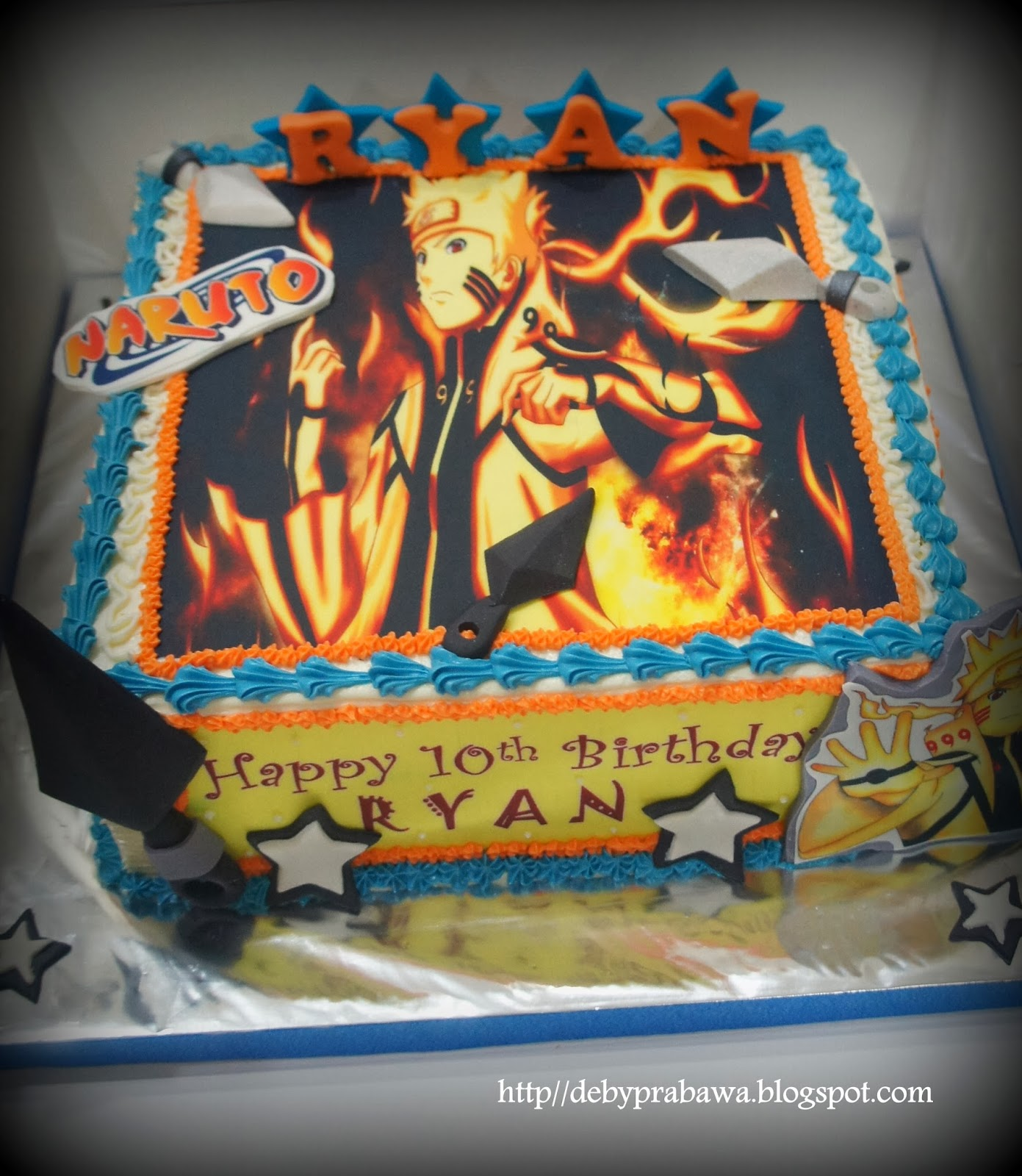Butterfly Cake Naruto Cake For Ryan
