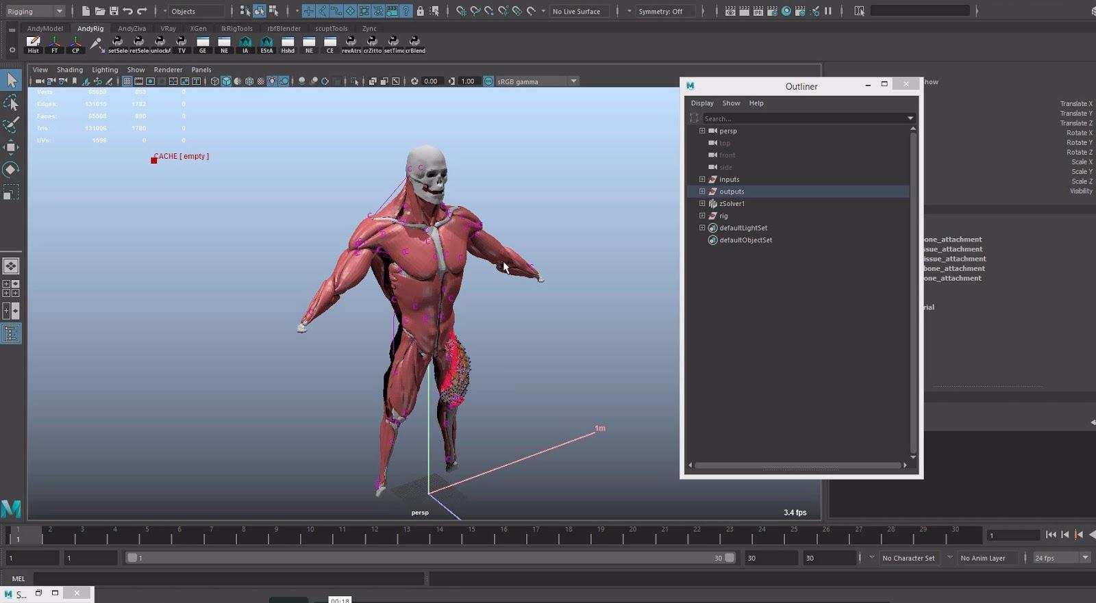 Ziva VFX Tutorial: Run Up for Shot Work | CG TUTORIAL