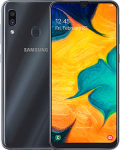 Samsung Galaxy A30 vs iPhone X: Comparativa