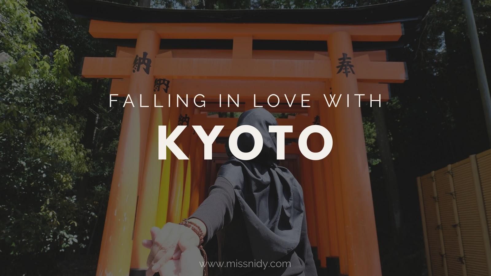 japan travel diaries - kyoto