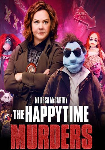 The Happytime Murders 2018  ESub x264 BRRip 480p 300MB