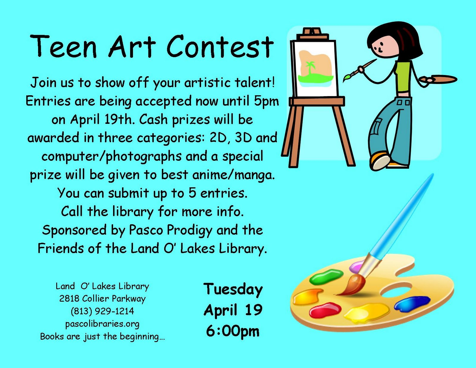 Teen Blog Art Contest Posted 69