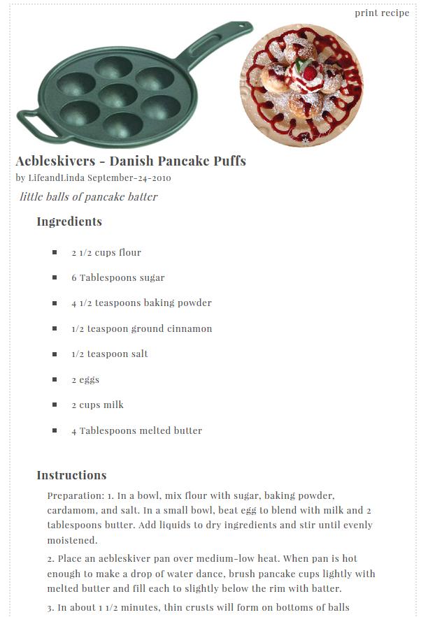 Finally A Printable Recipe For Blogger – Sample Recipe Card