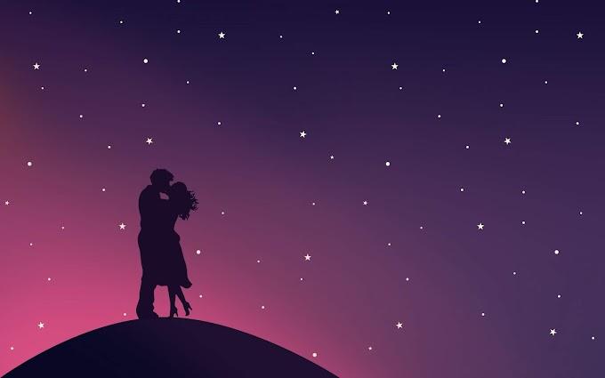 Noite Romântica Casal Apaixonado