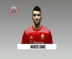 PES 6 Marko Šimić (Persija Jakarta) Face