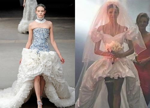 A Safe Mooring The Ubiquitous Royal Wedding Post Dress From November Rain Inspiration