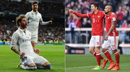 Assistir  Real Madrid x Bayern de Munique AO VIVO Grátis em HD 12/04/2017