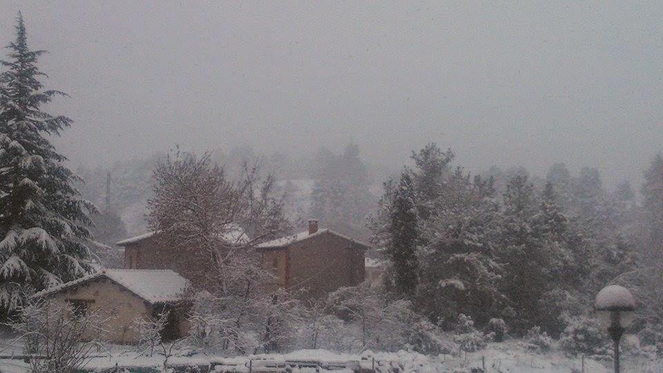 beceite beseit, nieve, Nieva en Beceite, 4-2-2015, neu a Beseit, aneu a Beseit, Beseit