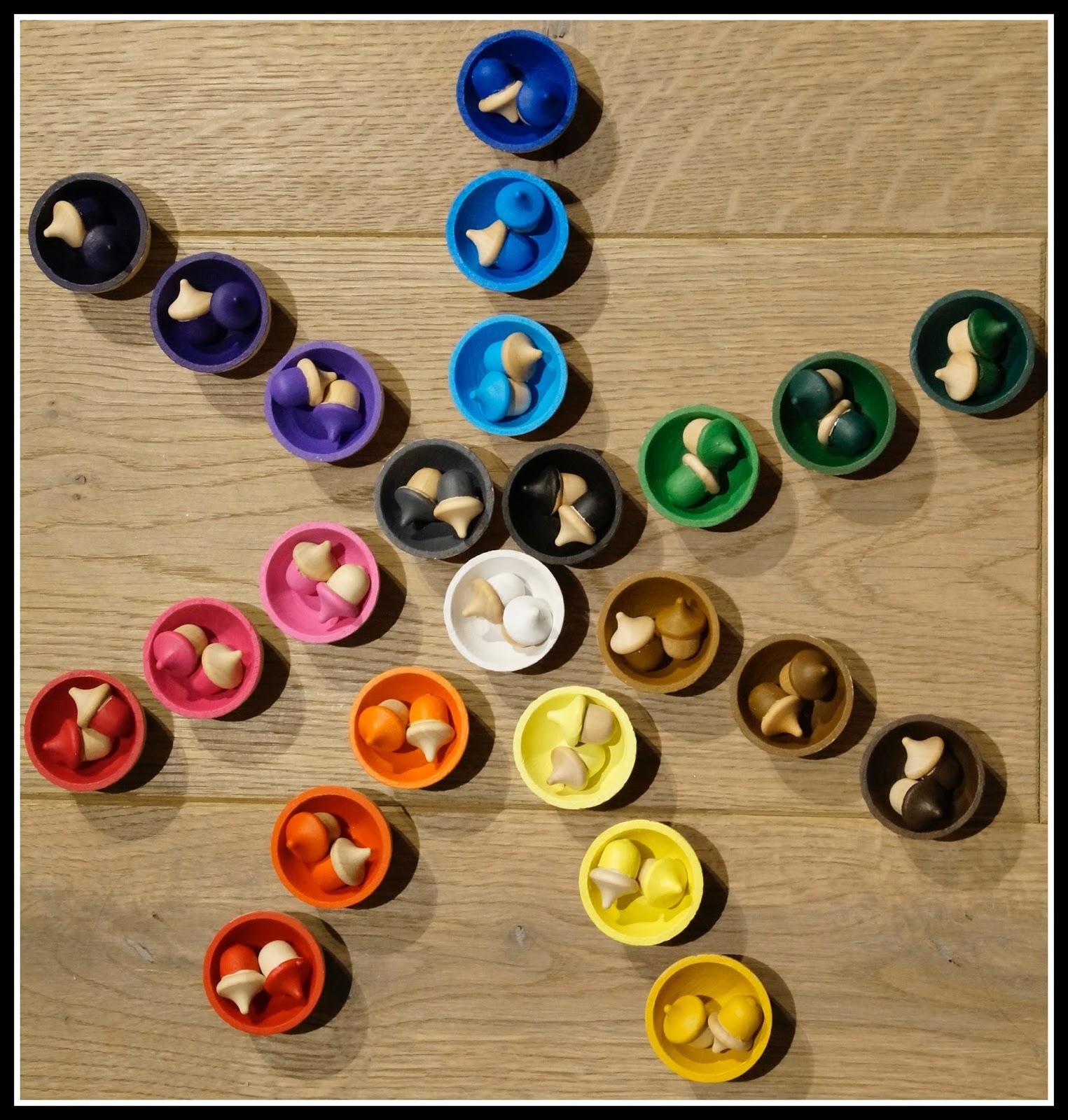 Bevorzugt Mon joli petit bureau: DIY : jeu de tri de couleur et de nuances  AN95