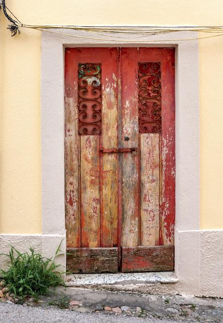 porte peinte buarcos