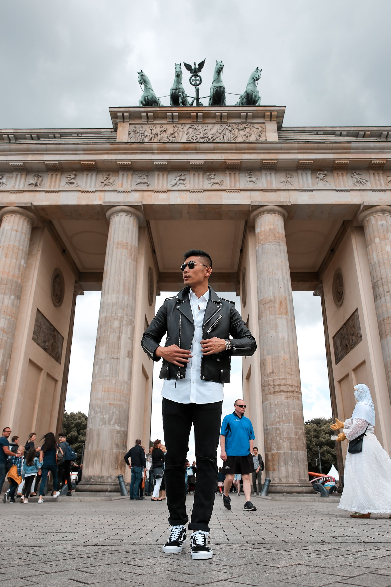 Leo Chan at The Brandenburg Gate
