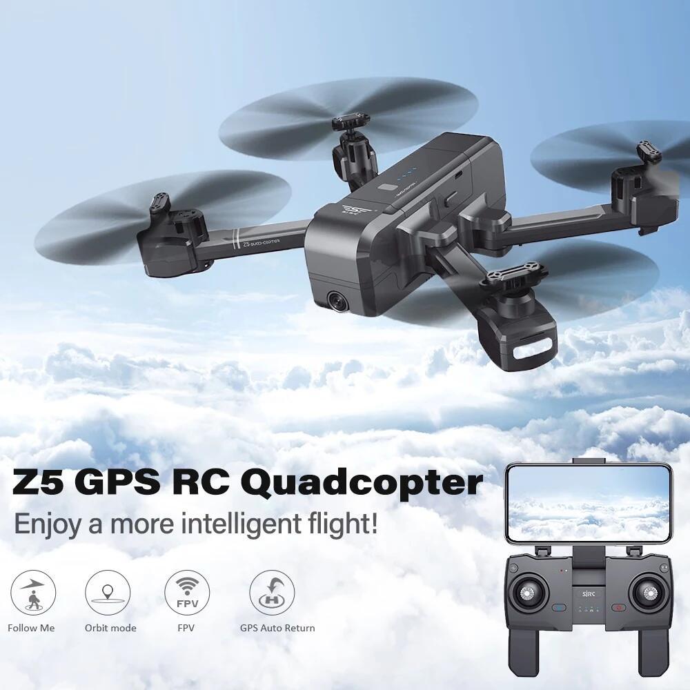 a29b5b3e3b27 SJRC Z5 5G Wifi FPV With 1080P Camera Double GPS Dynamic Follow RC Drone  Quadcopter
