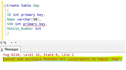 Microsoft business intelligence difference between for 1005 can t create table