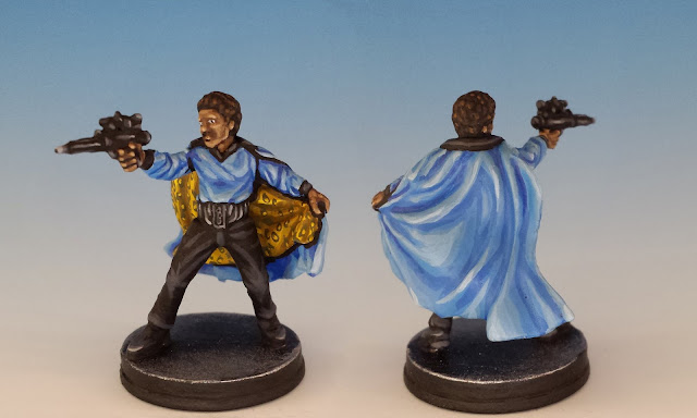 Lando Calrissian, FFG Imperial Assault (sculpted by G. Storkamp, 2016)