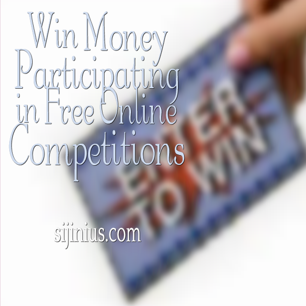 free competitions win cash