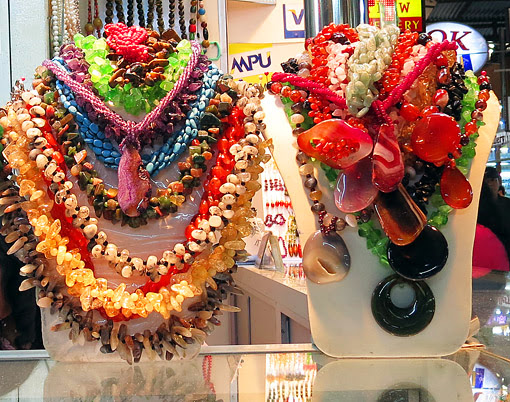 Ethnic jewelry from  semi precious stones
