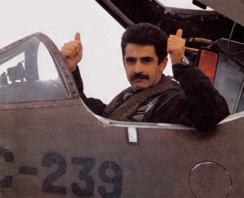 piloto veterano de Malvinas pablo carballo