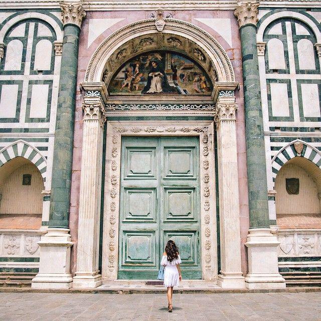 Italy, Basilica of Santa Maria Novella Florence