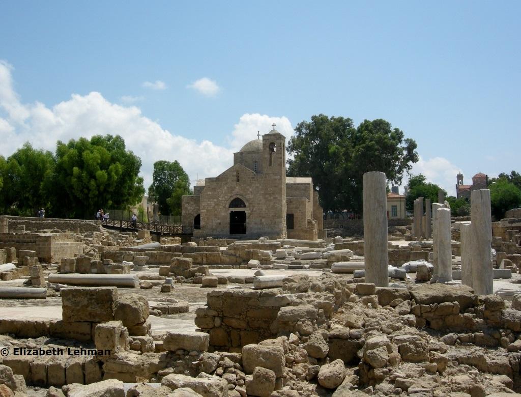 The Island Of Cyprus St Paul
