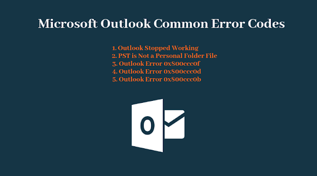 Outlook Common Errors