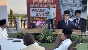 Gerindra Bangga Prabowo-Sandi Menang Mutlak di NTB