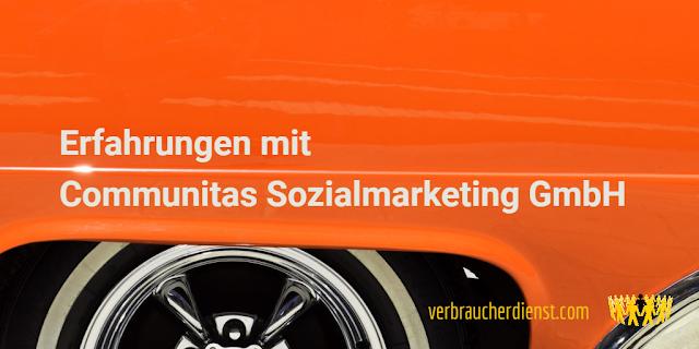 Titel: Erfahrungen mit der Communitas Sozialmarketing GmbH