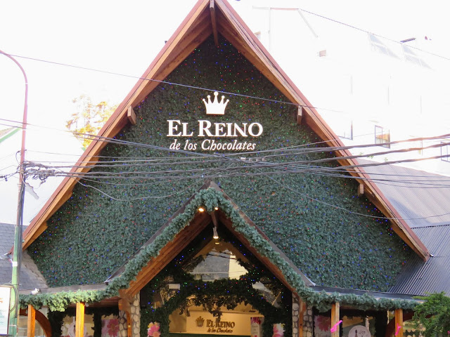 El Reino de los Chocolates (the king of chocolates) in Bariloche Argentina