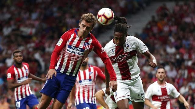 Hasil Liga Spanyol: Atletico Madrid Hantam Huesca 3-0