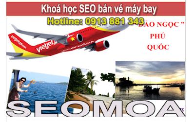 khóa đào tạo seo cho dịch vụ bán vé máy bay