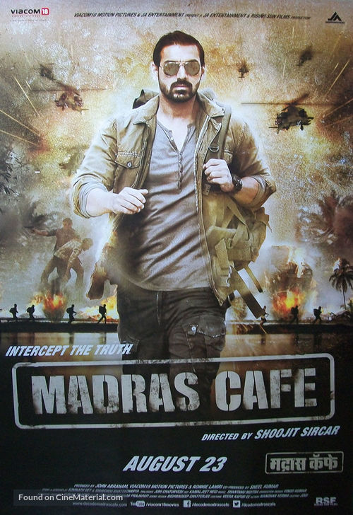 Madras Cafe (2013) Hindi 720p BluRay 1.1GB