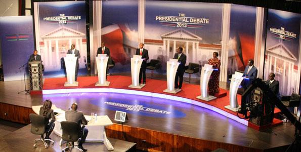 Kenya presidential debate