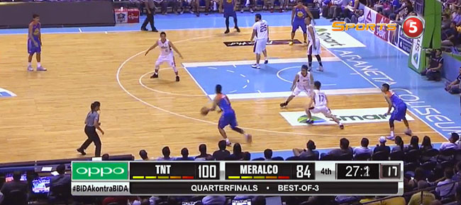 TNT def. Meralco, 102-84 (REPLAY VIDEO) QF Game 1 / June 5