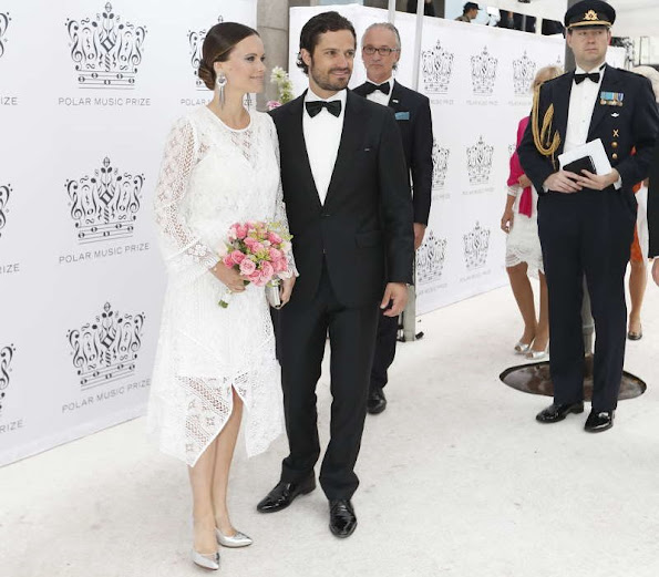 Queen Silvia, Crown Princess Victoria and Prince Daniel, Prince Carl Philip and Princess Sofia of Sweden attend Polar Music Prize 2016