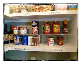 My Suite Bliss Pantry Organization