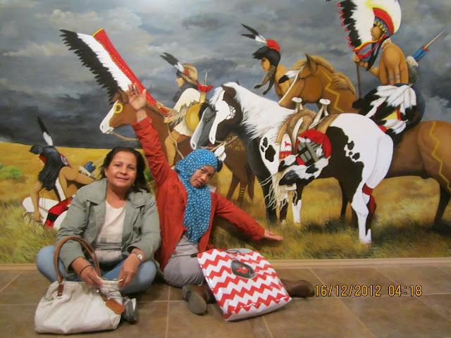 MUSEUM OF NATIVE AMERICA: Melihat Masa Lampau Amerika