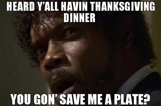 save me thanksgiving meme