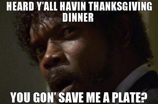 save me thanksgiving meme