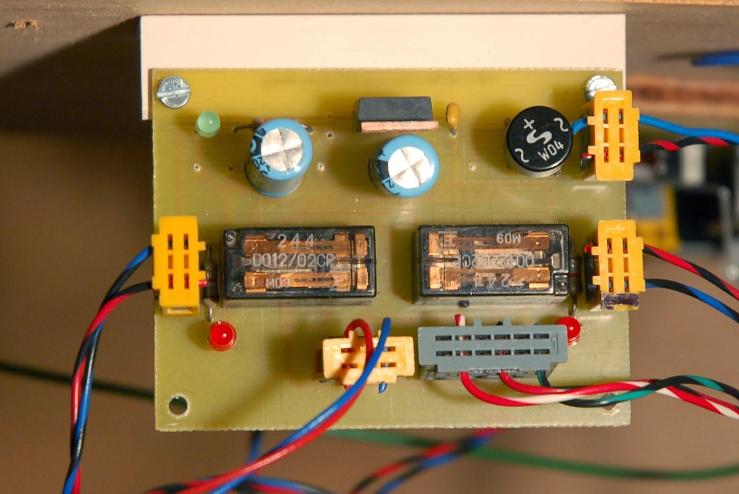 Electronique pour mod lisme ferroviaire for Alimentation maison commande
