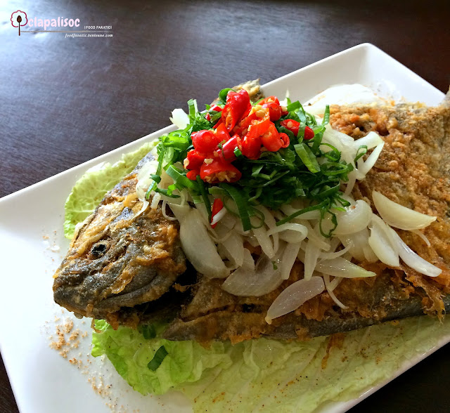 Fried Salt & Pepper Fish from Tra Vinh