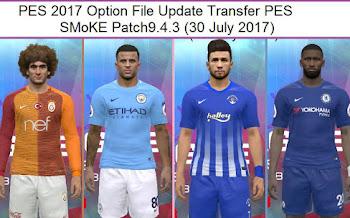 Option File | Transfers Updated | Smoke Patch 9.4.3 [30.07.2017]