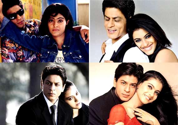 pasangan selebriti bollywood favorit Shahrukh Khan & Kajol