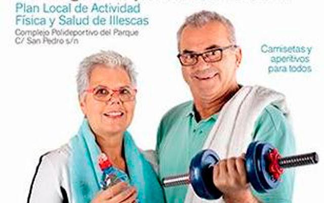cartel jornada deportiva para mayores IMAGEN ILLESCAS COMUNICACION