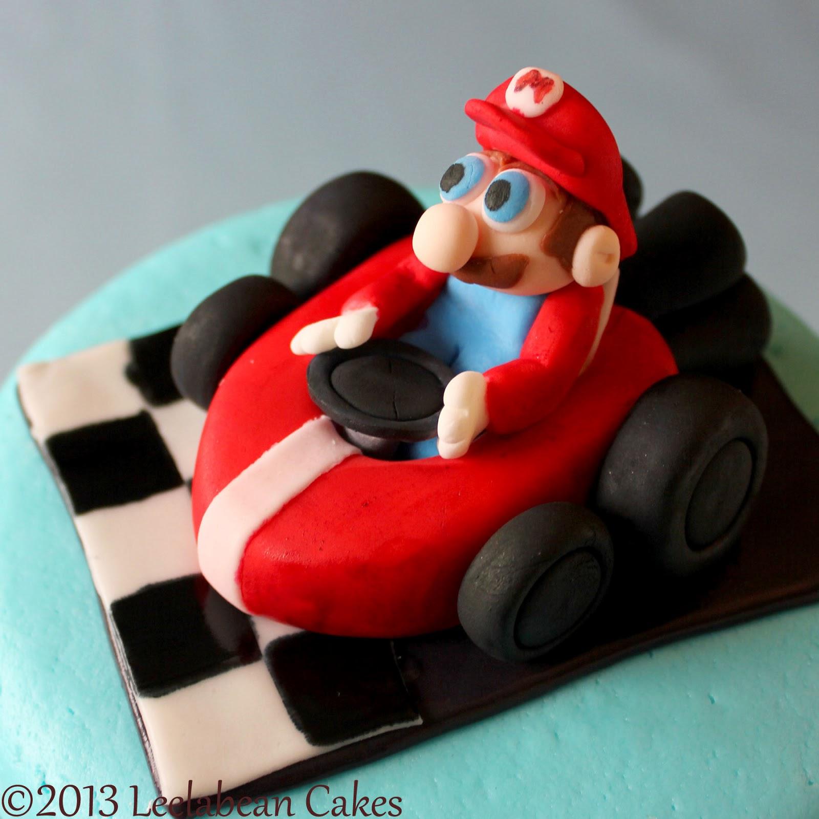 Leelabean Cakes Mario Kart Cake
