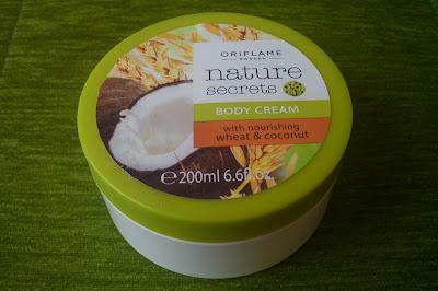 Krem do ciała z odżywczą pszenicą i kokosem