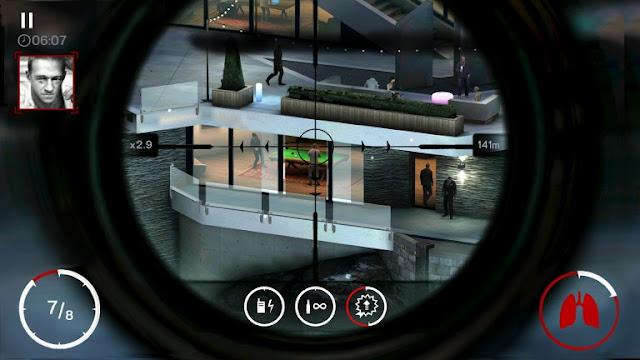 لعبة Hitman : Sniper متوفرة حاليا بالمجان على نظام Android